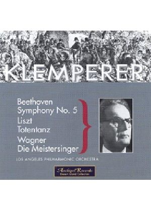 Beethoven: Symphony No 5; Liszt: Totentanz; Wagner: Meistersinger Overture