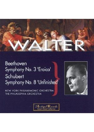 Beethoven: Symphony No 3, 'Eroica'; Schubert: Symphony No 8, 'Unfinished'