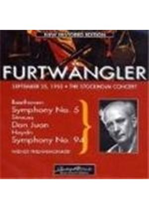 Beethoven: Symphony No 5; Strauss: Don Juan