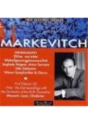 Markevitch conducts Various Orchestral Works