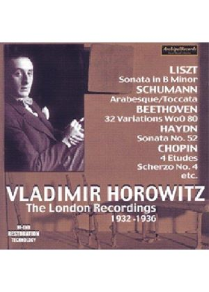 Vladimir Horowitz - (The):  London Recordings 1932 -1936
