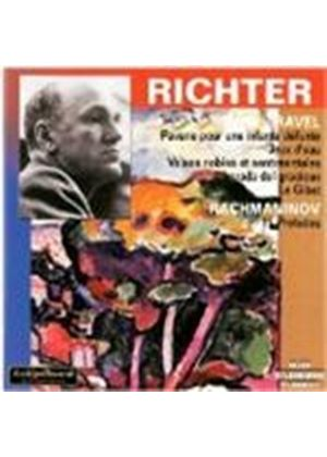 Richter plays Rachmaninov and Ravel