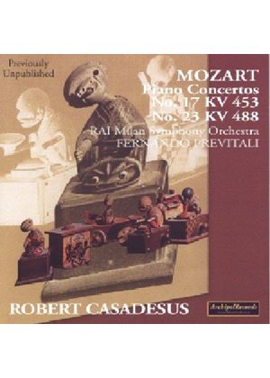 Mozart: Piano Concertos Nos 17 and 23