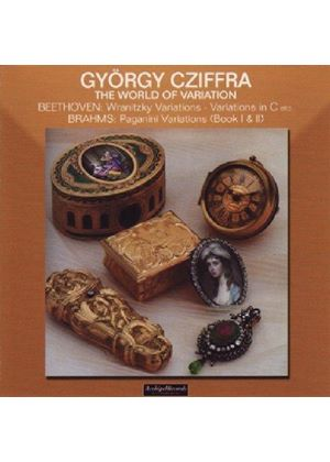 Beethoven/Brahms/Auber - The World Of Variation (Cziffra)