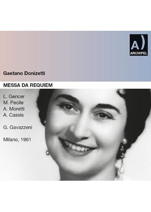 Donizetti: Messa di Requiem (Music CD)