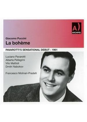 Puccini: La Bohème (Music CD)