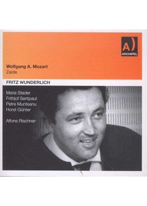 Mozart: Zaide (Music CD)