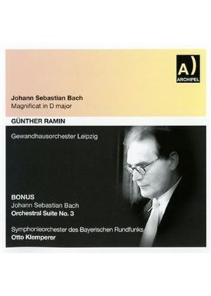 Johann Sebastian Bach: Magnificat in D major (Music CD)