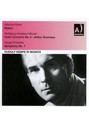 Rudolf Kempe in Munich (Music CD)