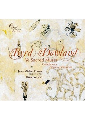 Byrd, Dowland: Ye Sacred Muses (Music CD)