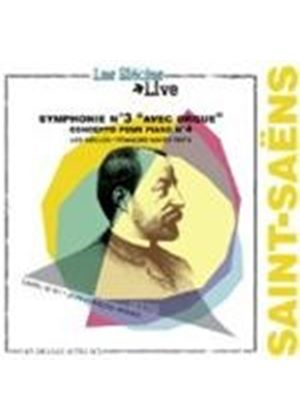 Saint-Saens: Symphonie No.3 'Organ' Op.78, Piano Concerto No.4 Op.44 (Music CD)