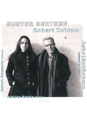 Robert Zuidam: Suster Bertken (Music CD)
