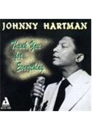 Johnny Hartman - I THANK YOU FOR EVERYTHING