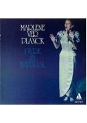 Marlene Ver Planck - Pure And Natural [US Import]