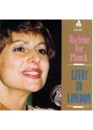Marlene Ver Planck - Live In London