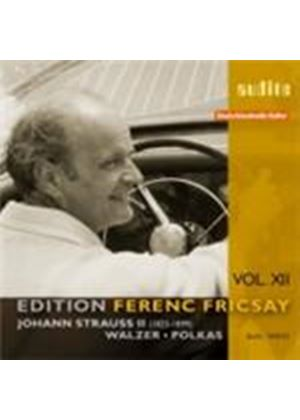 Strauss, J II: Waltzes and Polkas - Ferenc Fricsay Edition, Vol 12 (Music CD)