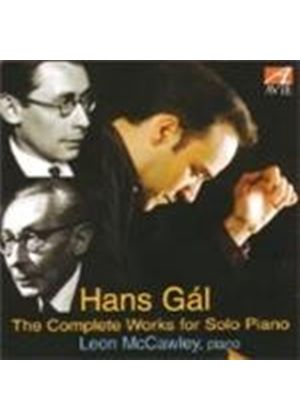 Gál: Complete Works for Piano Solo