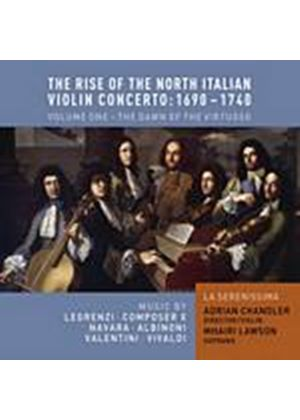 Various Composers - The Rise Of The North Italian Violin Concerto - 1690 - 1740 (Music CD)