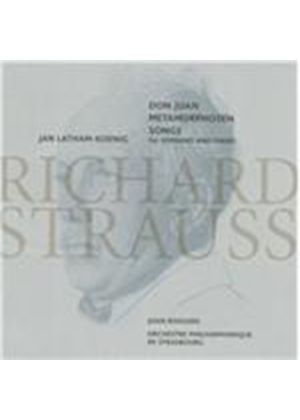 Strauss: Don Juan; Metamorphosen; Songs For Soprano (Music CD)