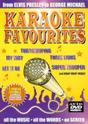 Karaoke Favourites - From Elvis Presley to George Michael (Music DVD)