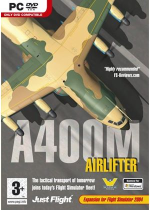 A400M Airlifter (Add on for FS 2004) (PC DVD)