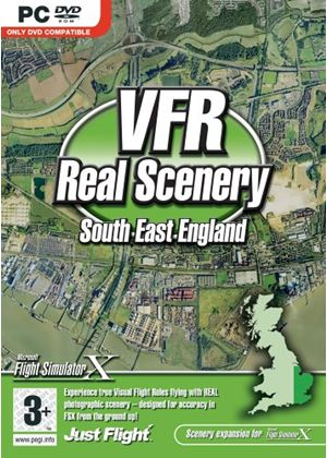 VFR Real Scenery Vol 1: South East England Add-On for FSX (PC DVD)