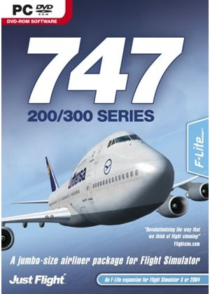 747-200/300 Series Add-On for FSX and FS2004 (PC DVD)