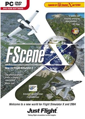 FScene X Add-On for FSX and FS 2004 (PC DVD)