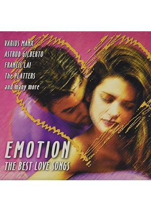 Various Artists - Emotions - The Best Love Songs (Music CD)