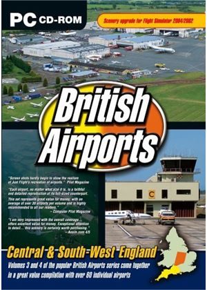 British Airports Central & South West England (PC CD)