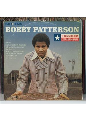Bobby Patterson - Texas Soulman Extraordinaire (Music CD)