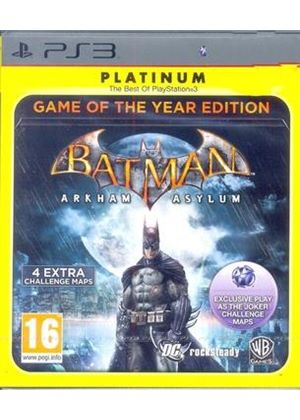 Batman: Arkham Asylum - Game of the Year (Platinum) (PS3)