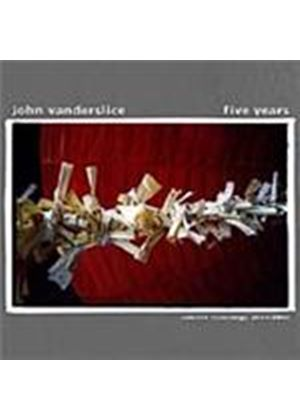 John Vanderslice - Five Years (Music CD)