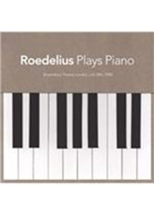 Hans-Joachim Roedelius - Plays Piano (Live in London 1985/Live Recording) (Music CD)