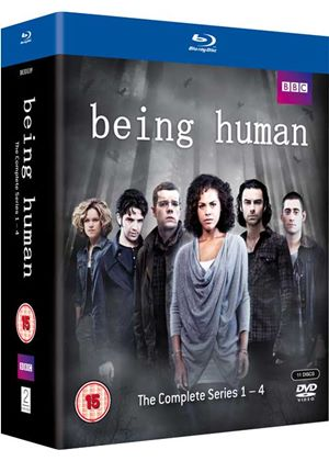 Being Human - Series 1-4 - Complete (Blu-Ray)