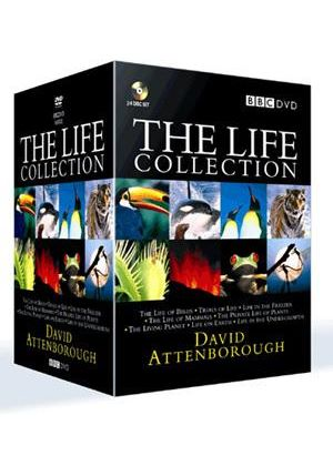 The Life Collection: David Attenborough (24 Disc BBC Box Set) (1990)
