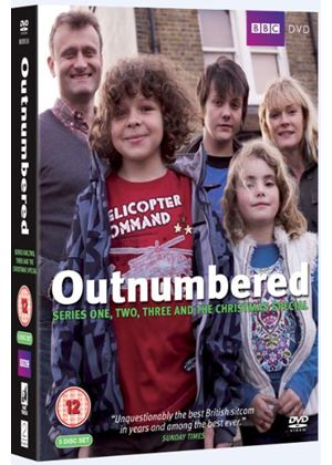 Outnumbered Series 1 – 3 Plus Christmas Special Boxset