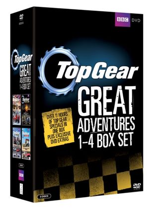 Top Gear - The Great Adventures: 1-4 Box Set