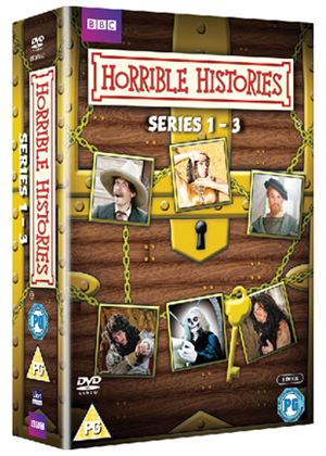 Horrible Histories - Complete Series 1-3 Box Set