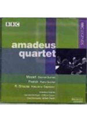 Mozart: Clarinet Quintet; Franck: Piano Quintet; Strauss, R: Prelude to Capriccio for Sextet
