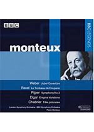 Various Composers - Pierre Monteux Conducts (BBC SO, LSO) (Music CD)