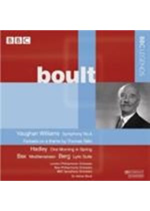 Boult conducts Vaughan Williams, Hadley, Bax and Berg (Music CD)