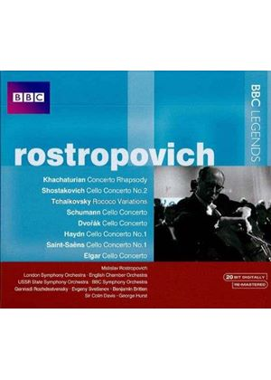 Rostropovich (Music CD)