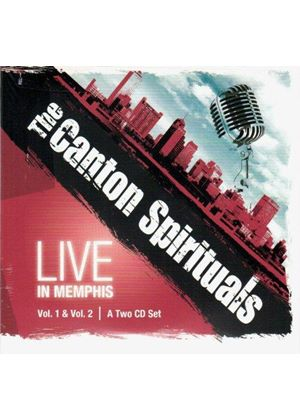 Canton Spirituals (The) - Live in Memphis, Vol. 1 & Vol. 2 (Live Recording) (Music CD)