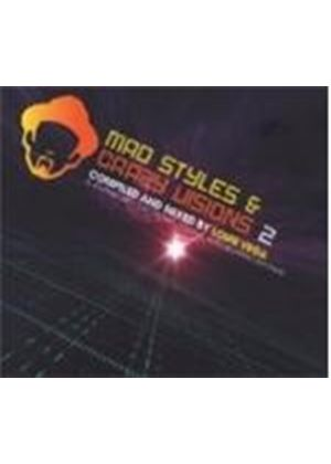 Various Artists - Mad Styles And Crazy Visions Vol.2 (Mixed By Louie Vega) (Music CD)