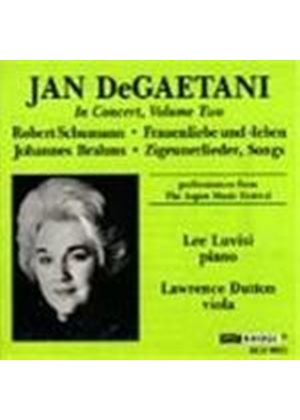 Jan DeGaetani in Concert Volume 2