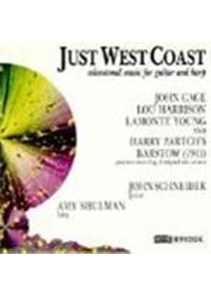 Just West Coast - Microtonal Music for Guitar and Harp
