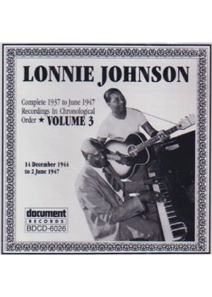 Lonnie Johnson - Complete Recordings Vol.3