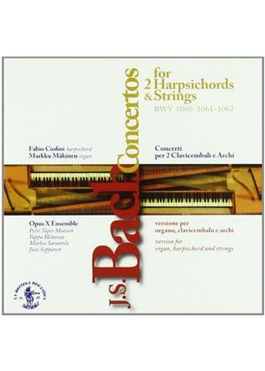Bach: Concertos for 2 Harpsichords & Strings (Music CD)