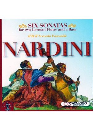 Nardini: Six Sonatas for Two German Flutes and a Bass (Music CD)